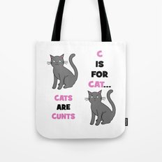 C is for Cat... Tote Bag