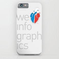We Love Infographics iPhone 6s Slim Case