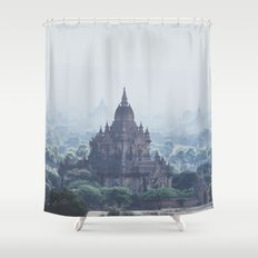 Bagan II Shower Curtain