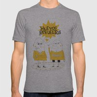Huevos Revueltos Mens Fitted Tee Athletic Grey SMALL
