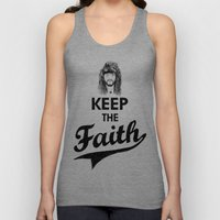 KEEP THE FAITH Unisex Tank Top