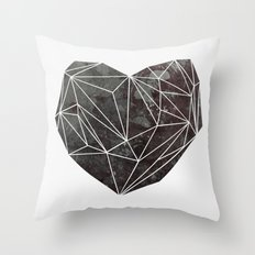 Heart Graphic 4 Throw Pillow