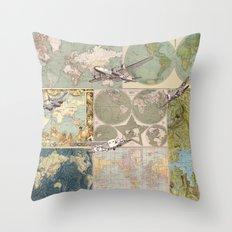 Flight Patterns Throw Pillow