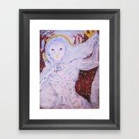 Snow Spirit Framed Art Print