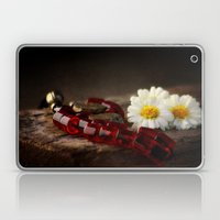 Red Marbles Laptop & iPad Skin