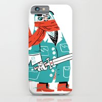 iPhone & iPod Case featuring Creepy Scarf Guy by Mike Laughead