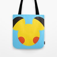 Electric Mouse  Tote Bag