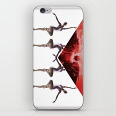 envelope bloody ballet iPhone & iPod Skin
