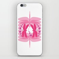 dragonfly pattern 2 iPhone & iPod Skin