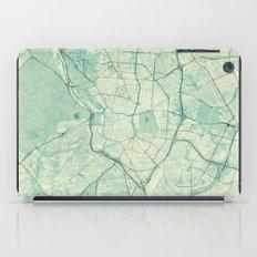 Madrid Map Blue Vintage iPad Case