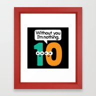I Owe You, One Framed Art Print