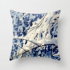 Amazing Winter Throw Pillow