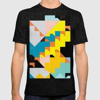 Color Story - Cannonade Mens Fitted Tee Tri-Black SMALL