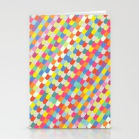 color tiles Stationery Cards