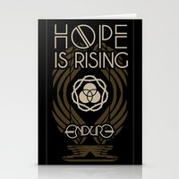 HOPE IS RISING Stationery Cards