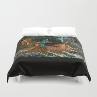 Glow Worms Duvet Cover