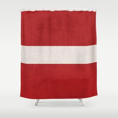 classic - red Shower Curtain