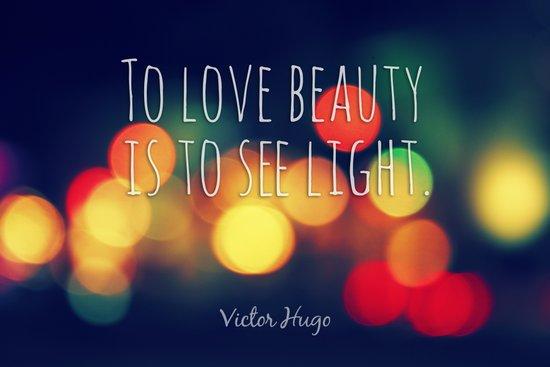 Love Beauty Art Print