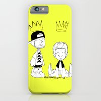 iPhone & iPod Case featuring Dual Crowns by Ashley R. Guillory