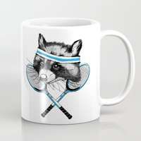 Little Raccoons Tennis C… Mug