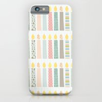 candles pattern iPhone 6 Slim Case