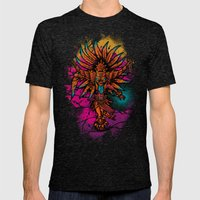 Ancient Spirit Mens Fitted Tee Tri-Black SMALL