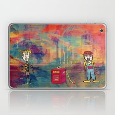 Two guys at the gas station Laptop & iPad Skin