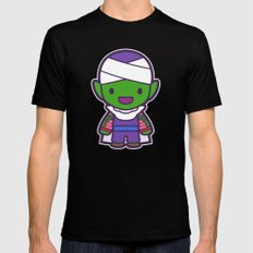 Piccolo Mens Fitted Tee Black SMALL