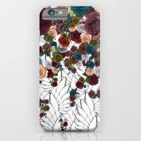 falling flowers iPhone 6 Slim Case