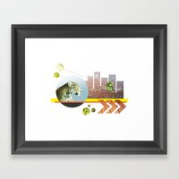 Urban Jungle #3 Framed Art Print