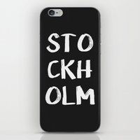 STOCKHOLM iPhone & iPod Skin