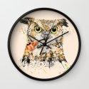 Mr.Owl II Wall Clock