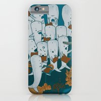 Whale songs iPhone 6 Slim Case