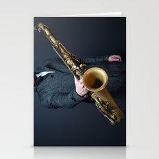 saxophone Stationery Cards