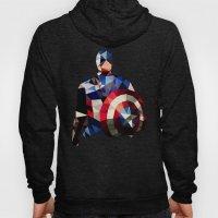 Polygon Heroes - Captain America Hoody