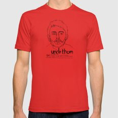 Uncle Thom Mens Fitted Tee Red SMALL