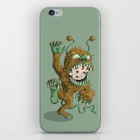 Monster Inside iPhone & iPod Skin