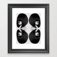 Primal Fashion Framed Art Print