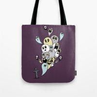 Spooky Ghosts Tote Bag