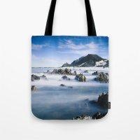 Long Exposure Seascape Tote Bag