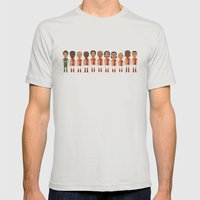 Galatasaray 2013 Mens Fitted Tee Silver SMALL