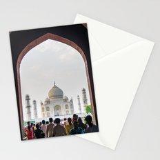 Entering the Taj Mahal Stationery Cards