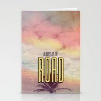 Always On The Road Stationery Cards