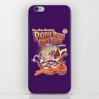 Pork Butts And Taters iPhone & iPod Skin