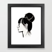 Françoise Framed Art Print