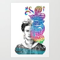 Frida Kahlo -  Art Print