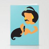 Jasmine - Aladdin Stationery Cards