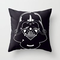 V for Vader Throw Pillow