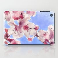 Japanese Cherry Blossoms iPad Case
