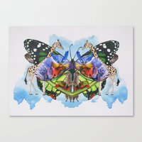 Catch You On The Flip Side Canvas Print